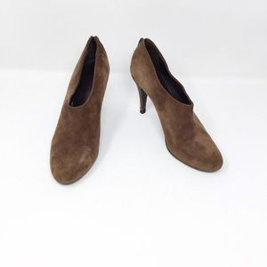 J Crew Bronson Brown Suede leather Ankle Booties